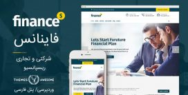 قالب شرکتی finance-financial-business-accounting