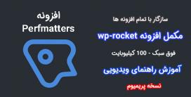 افزونه Perfmatters | افزونه وردپرس بهینه ساز و مکمل راکت