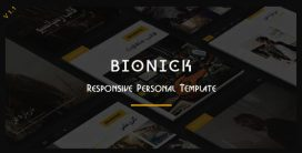 BIONICK – قالب حرفه ای HTML